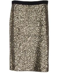 By Malene Birger Helic Sequin Pencil Skirt - Lyst