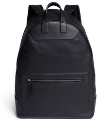 Maison Margiela Leather Backpack - Lyst