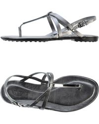 Tod's Thong Sandal - Lyst