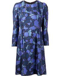 Marc Jacobs Petal Print Dress - Lyst