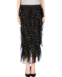 Valentino Roma 3/4 Length Skirt - Lyst