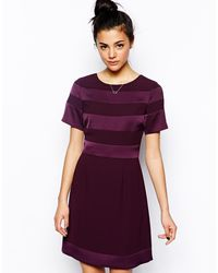Oasis Two Tone Shift Dress - Lyst