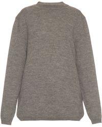 Raey   Long-line Wool-blend Boyfriend Sweater   Lyst