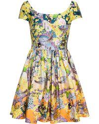 Mary Katrantzou Discosoma Sunset Dress - Lyst