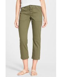 Cj By Cookie Johnson 'Command' Crop Cargo Pants - Lyst
