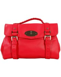 Mulberry Handbag Alexa Medium Leather with Shoulder - Lyst