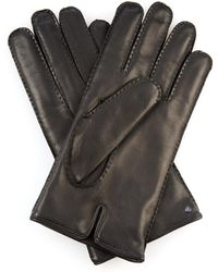 Mulberry Leather Gloves - Lyst