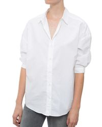 MiH Jeans Poets Cotton Shirt white - Lyst
