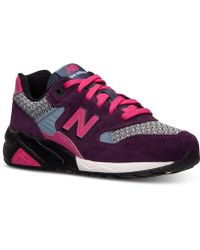 New Balance Women'S 580 Elite Edition Casual Sneakers From Finish Line - Lyst