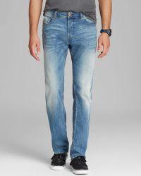 Diesel Jeans Waykee Straight Fit in Denim - Lyst