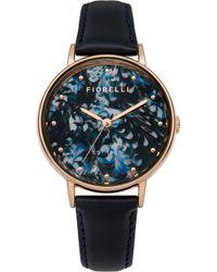 Fiorelli - Ladies Leather Strap Watch - Lyst