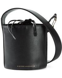 Victoria Beckham Calf-Leather Bucket Bag - Lyst