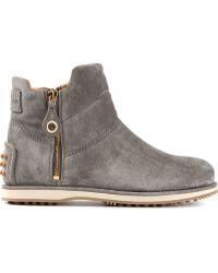 Car Shoe Side Zip Boots - Lyst