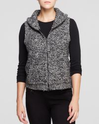 Eileen Fisher Shawl Collar Vest - Lyst