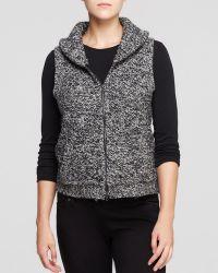Eileen Fisher Shawl Collar Vest - Lyst
