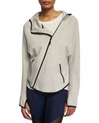 Onzie - Dolman-sleeve Asymmetric-zip Sport Jacket - Lyst