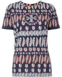 Tory Burch | Fern Print T-shirt | Lyst