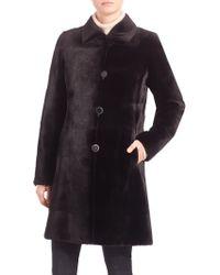 Carmen Marc Valvo | Reversible Mink Fur Coat | Lyst