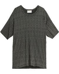 American Vintage Kippersville T-Shirt black - Lyst
