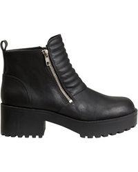 H&M Black Boots - Lyst