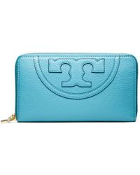 Tory Burch All-T Zip Continental Wallet - Lyst