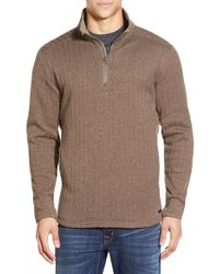 Merrell - 'hearthside' Quarter Zip Sweater - Lyst