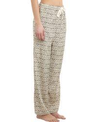 Sea - Fishscaleprint Pyjama Trousers - Lyst