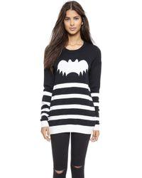 Zoe Karssen Bat Sweater - Pirate Black - Lyst