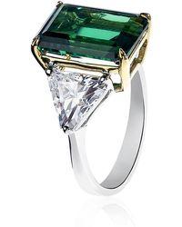Carat* - Emerald Green Ring - Lyst