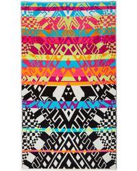 Nasty Gal Mara Hoffman X Pendleton Horizon Towel multicolor - Lyst