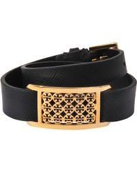 Tory Burch Double Wrap Kinsley Bracelet - Lyst