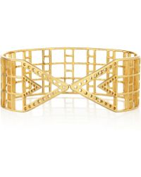 Arme De L'Amour - Gold-plated Arm Cuff - Lyst