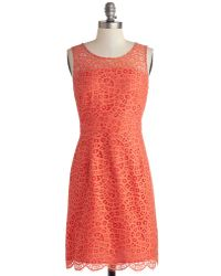 Donna Morgan Guava Punch Dress - Lyst