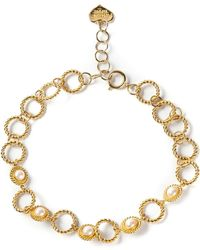 Moschino Vintage Faux Pearl Necklace - Lyst
