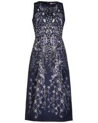Matthew Williamson 3/4 Length Dress - Lyst
