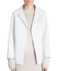 Marni Classic Leather Jacket - Lyst
