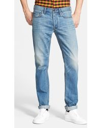 Marc By Marc Jacobs 'Mj 110' Straight Leg Jeans - Lyst