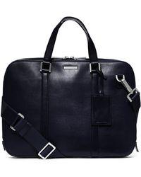 Michael Kors - Warren Slim Leather Briefcase - Lyst