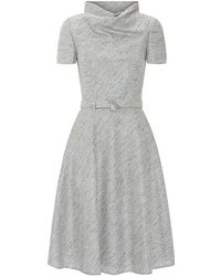 Carolina Herrera Tweed A-line Dress - Lyst