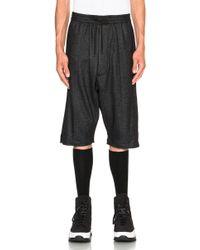 Public School - Melange Knit Basic Shorts - Lyst