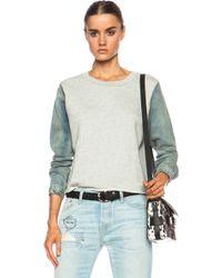 Nsf Clothing Corey Cotton Sweatshirt - Lyst