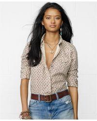 Denim & Supply Ralph Lauren - Longsleeve Floralprint Western Shirt - Lyst
