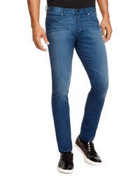 Hugo 734  Skinny Fit 875 Oz Stretch Cotton Jeans - Lyst
