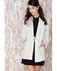 Nasty Gal Vintage Jean Paul Gaultier Tristen Jacket white - Lyst