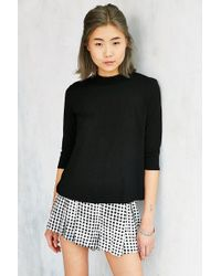 Truly Madly Deeply - Bailey Mock-neck Top - Lyst