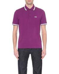 Hugo Boss Modern-Fit Cotton Polo Shirt - For Men - Lyst