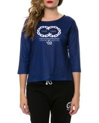 Crooks And Castles The Bossi Ls Lounge Top - Lyst