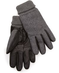 Forever 21 - Leather Paneled Gloves - Lyst