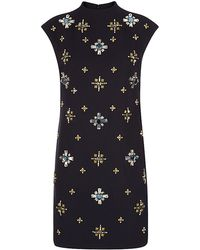 Tory Burch Black Carlan Dress - Lyst