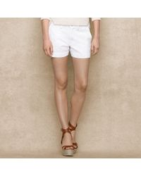 Blue Label Washed Chino Short - Lyst